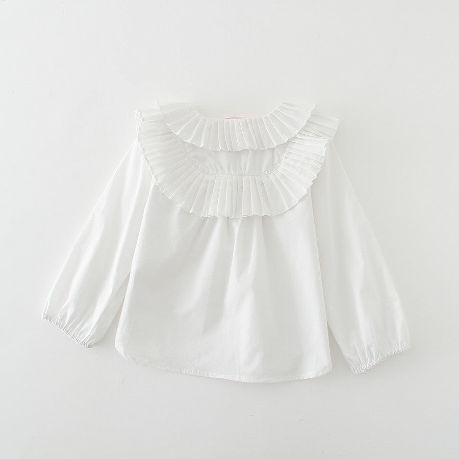 Ruffles Long Blouse
