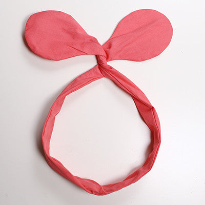 Colorful Ear Headband (4 colors available)