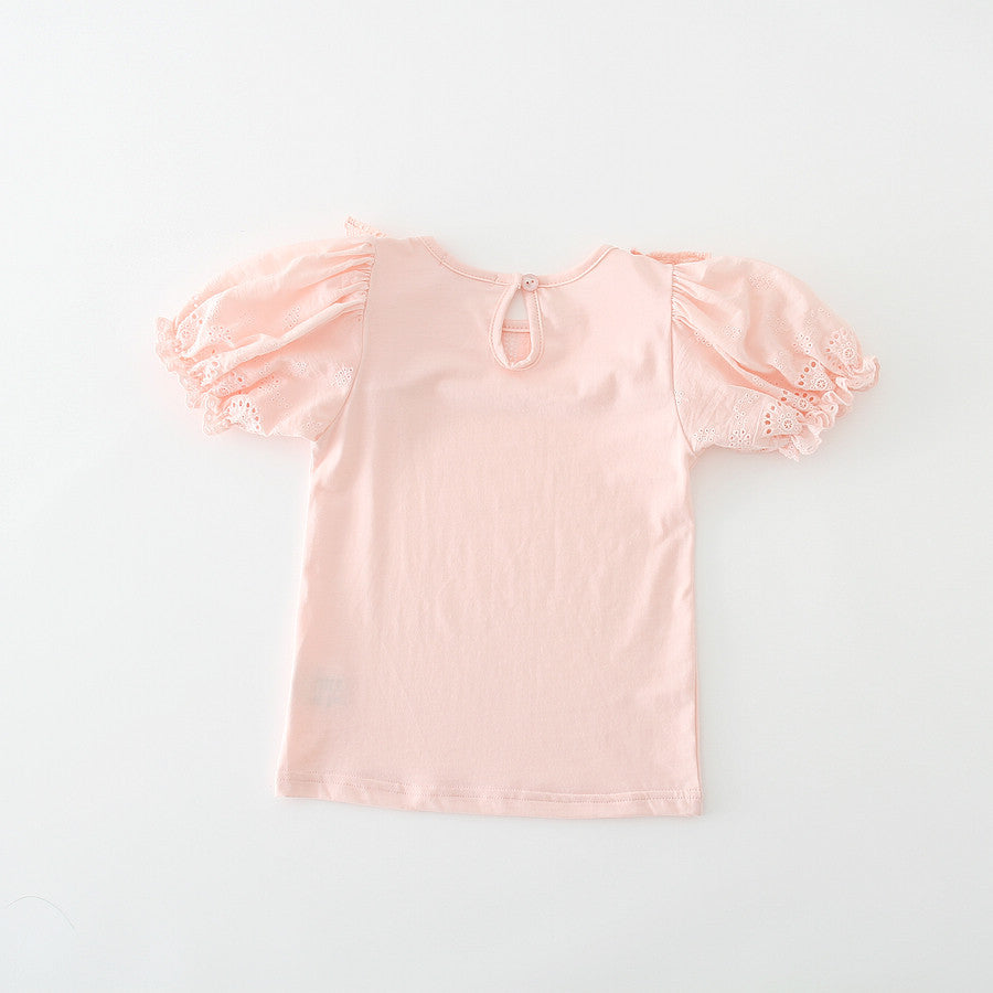 Puff Sleeve Top (Pink)