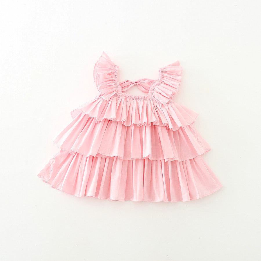 Claire Pleats Top in Pink