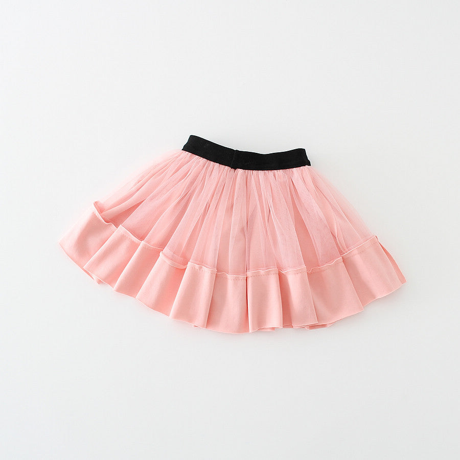 Tulle Skirt in Blush