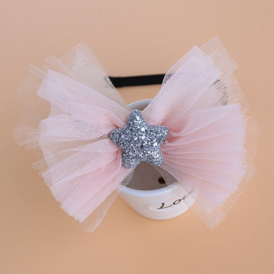 Chiffon Bow Headband (2 colors available)