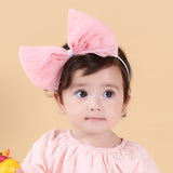 Big Bow Headband (4 colors avail)