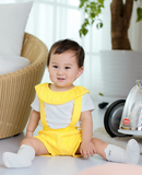Yellow Suspender and Bodysuit 2pc Set