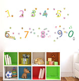Owls Numbering Wall Stickers - I Babyland