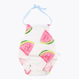 Watermelon Halter Suit