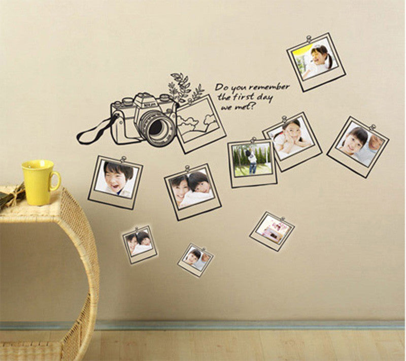 Family Photo Frames Wall Stickers - I Babyland  - 1