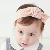 Shinning Star Knot Headband (Dusty Pink)
