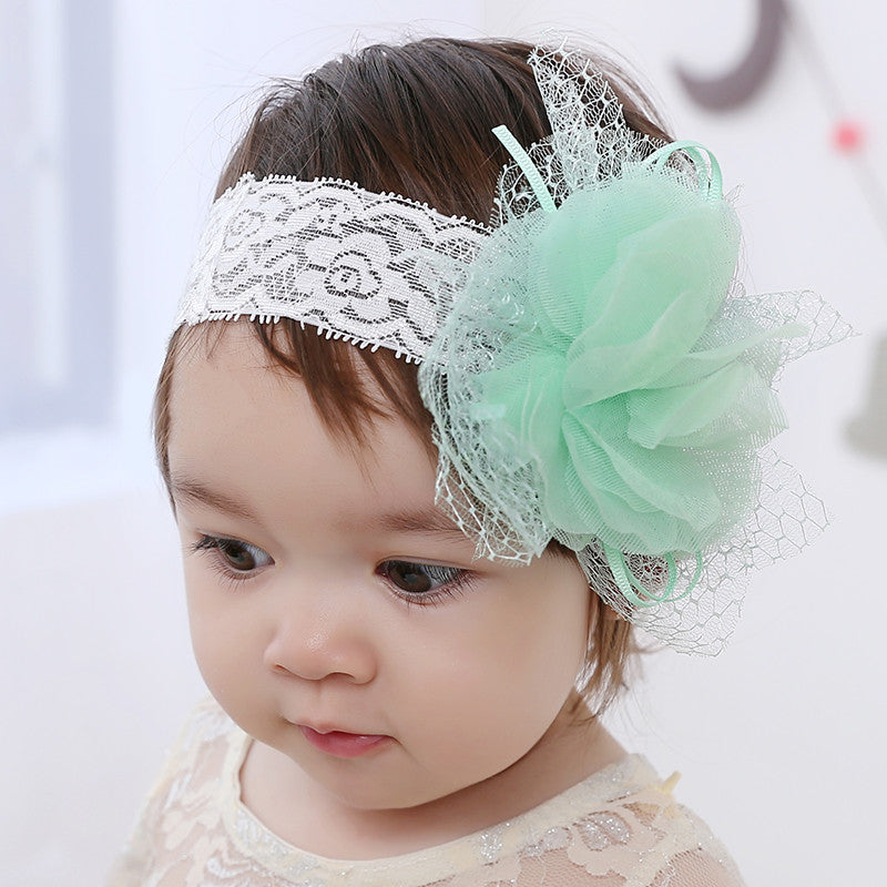 Floral Lace Headband (3colors available)