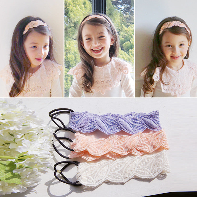 Lace Leaves Headband (3 colors available)