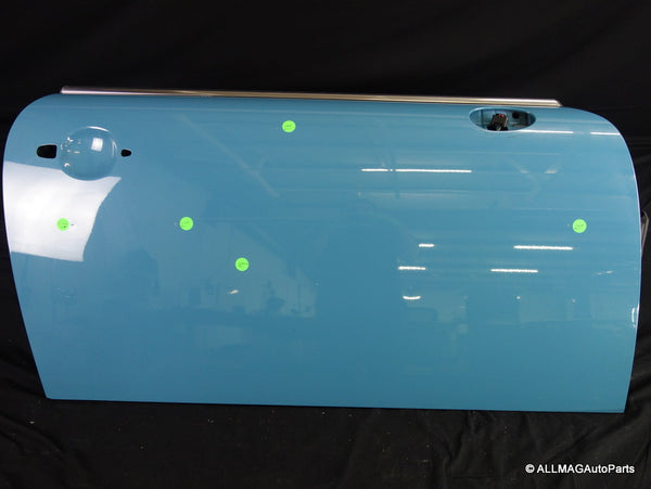 41002755936 07-15 Mini Cooper Right Front Door Shell Oxygen Blue R5x 147