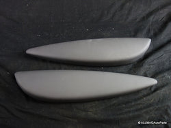 51412753315 51412753316 07-15 Mini Cooper Interior Door Armrest Dark Grey Pair R5x 147