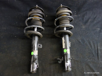 Mini Cooper Base Convertible Front Spring Strut Assembly Pair OEM 05-08 R52 162