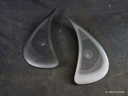 Mini Cooper Rear Lateral Panel Speaker Grilles with Tweeters 51432754987 51432754988 R56 163