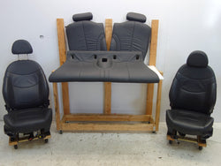 Mini Cooper Convertible Black Leather Seats Heated 05-08 R52 195