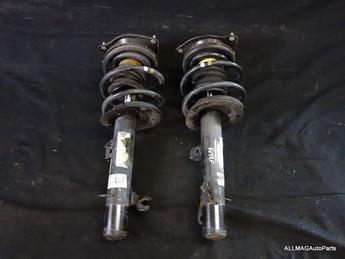 Mini Cooper Convertible Front Spring Strut Assembly Pair OEM 25k Miles 05-08 R52 164