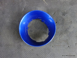 51177076054 02-06 Mini Cooper Fuel Door Lid Housing Trim Hyper Blue R50 R53 135