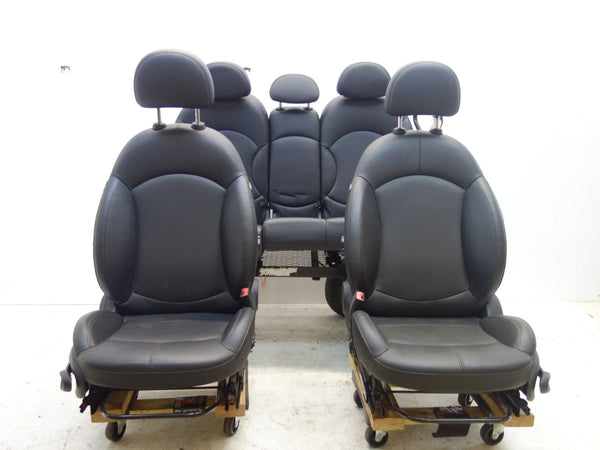 Mini Cooper Black Seats Leatherette Heated 2011-2016 Countryman R60