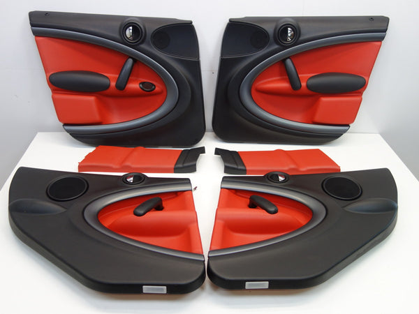 Mini Cooper Pure Red Door Panel Set 2011-2016 Countryman S ALL4 R60