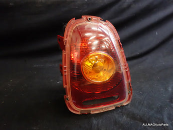 Mini Cooper Left Rear Tail Light Amber Lens 63212751307 07-10 R56 R57 158