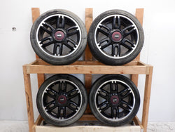 "Mini Cooper Twin Spoke Wheels 17"" OEM R128 36116798721 2002-2015"