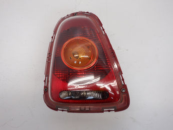 Mini Cooper Left Rear Tail Light Amber Lens 63212751307 07-10 R56 R57 202