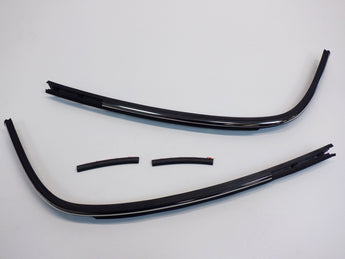 Mini Cooper Convertible Rear Top Molding Pair 2005-2008 R52 New OEM