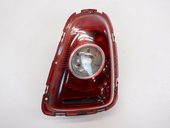 Mini Cooper Left Rear Taillight White Lens 63212757011 07-10 R56 R57 204