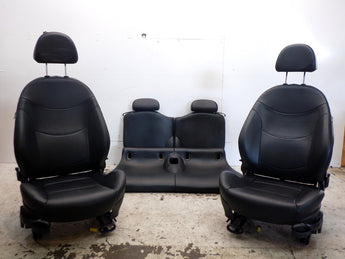 Mini Cooper Leatherette Heated Seats Panther Black 2005-2008 R52 K7PN 219