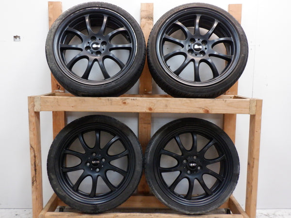 Mini Cooper JCW Double Spoke Wheels OEM R105 Black 36110442355 2002-2015