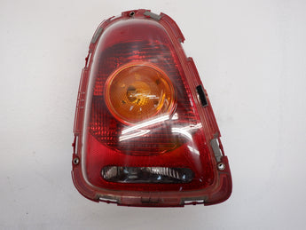 Mini Cooper Left Rear Tail Light Amber Lens 63212751307 07-10 R56 R57 207