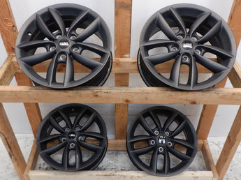 Mini Cooper Wheels OEM 5 Star Double Spoke Anthracite R124 36109804371 11-16 R60 R61