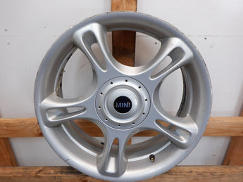 Mini Cooper Wheel JCW Star Spoke Silver R95 18x7 36116764104 02-15 R5x 228B