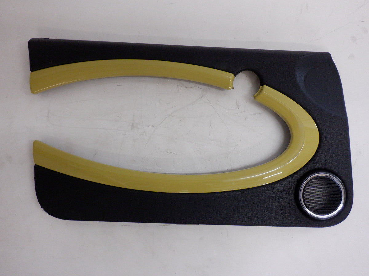 Mini Cooper Interchange Yellow Dash and Door Trim Set 2007-2015 R56 R57