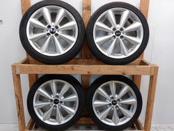 "Mini Cooper Conical Spoke Wheels 17"" OEM R121 36116791945 2002-2015"