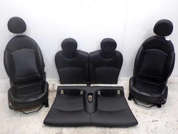 Mini Cooper Leather Seats Black, Heated 2007-2014 R56 R55 T8E1 231