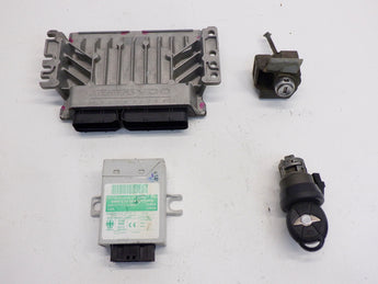 Mini Cooper S DME EWS Ignition and Key Auto 12147562646 05-08 R52 R53 201