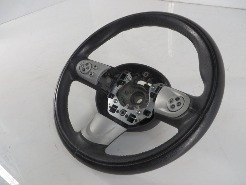 32306794624 07-16 Mini Cooper Sport Steering Wheel Black Leather Multifunction R5x R6x 82