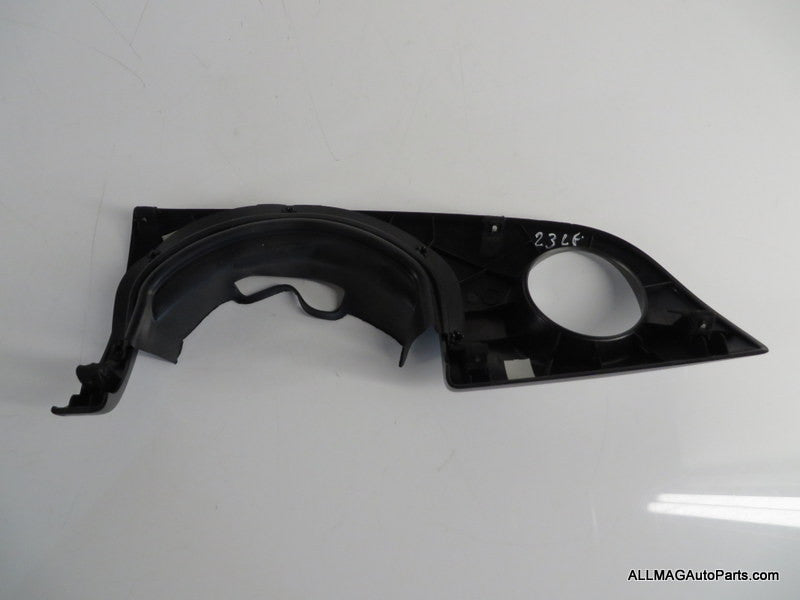 51459141859 05-08 Mini Cooper Left Dash Trim Plate Alloy Patina R50 R52 R53 23