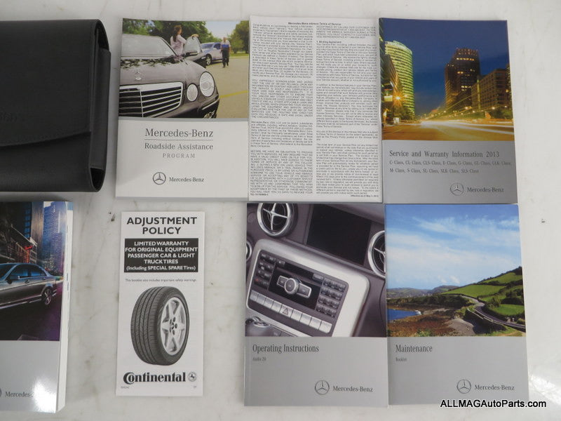 2013 Mercedes Benz C-Class Owner's Manual/Technical Literature & Case 2045847382