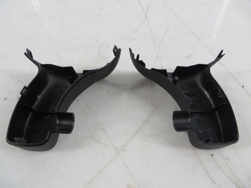 51167163810 02-14 Mini Cooper Rear View Mirror Baseplate Cover Set R50 R53 R55 R56