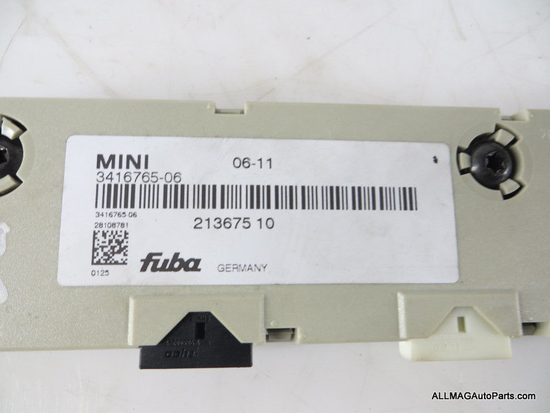 65203416765 07-13 Mini Cooper Antenna Amplifier Diversity R56