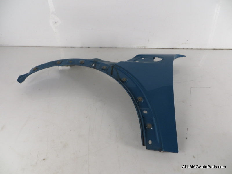Mini Cooper Left Front Fender Oxygen Blue 41352754725 07-15 R55 R56 R57 R58 R59 51