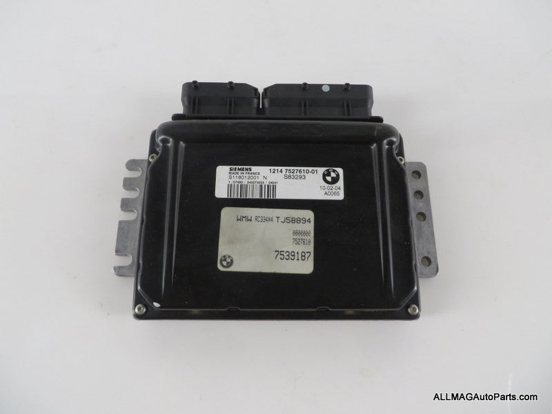 12147527610 02-08 Mini Cooper Basic Control Unit DME R50 R52 R53