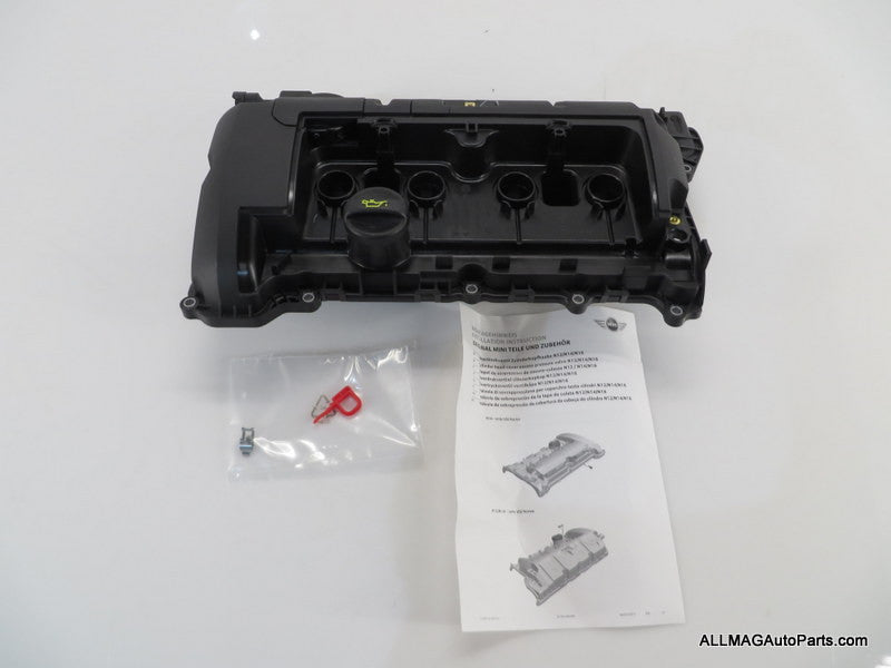 NEW OEM 07-16 Mini Cooper Engine Valve Cover N12 N16 11127646554 R5x
