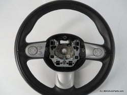 2007-2015 Mini Cooper Sport Steering Wheel Black Leather 22 32306794624