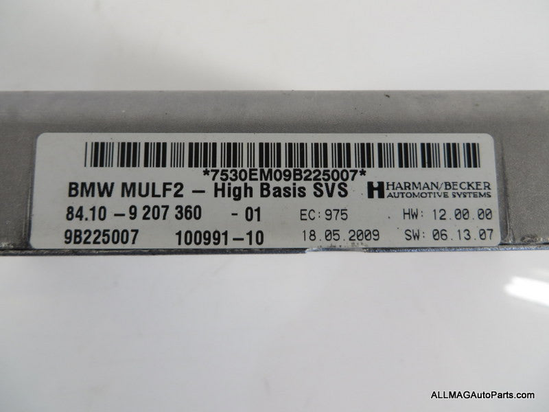BMW Mini Cooper ULF Bluetooth Module 84109207360 06-16 R5x E9x
