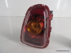 Mini Cooper Right Rear Tail Light Amber Lens 63212751308 07-10 R56 R57 51