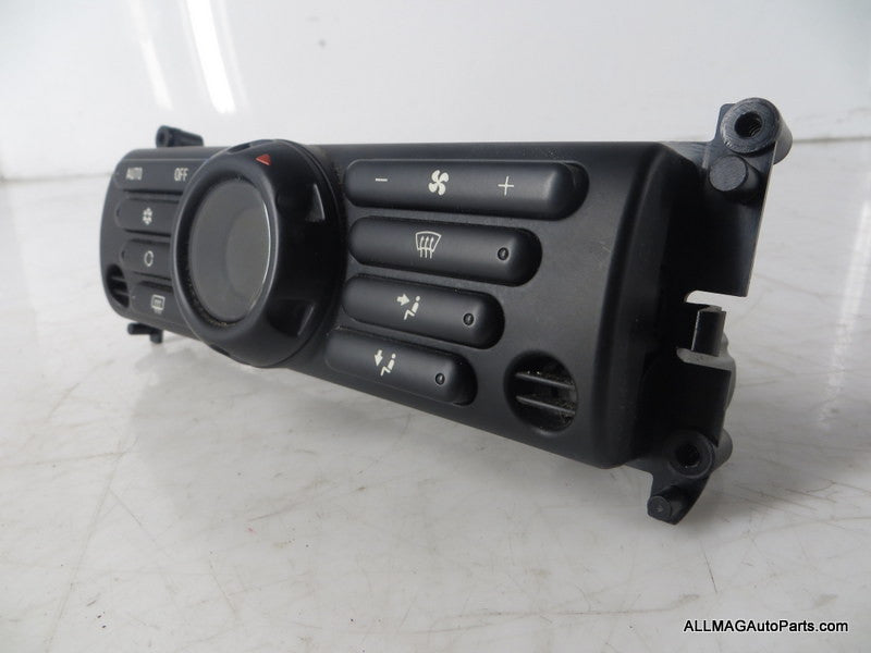 64116935489 03-04 Mini Cooper A/C Automatic Temperature Control Panel R50 R53