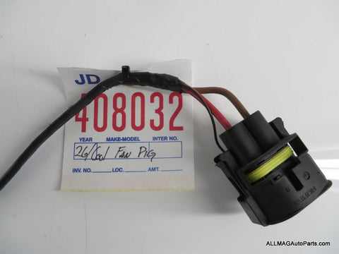 2014 2016 mini cooper s electric cooling fan wire harness 26 f56 2014 2016 mini cooper s electric cooling fan wire harness 26 f56